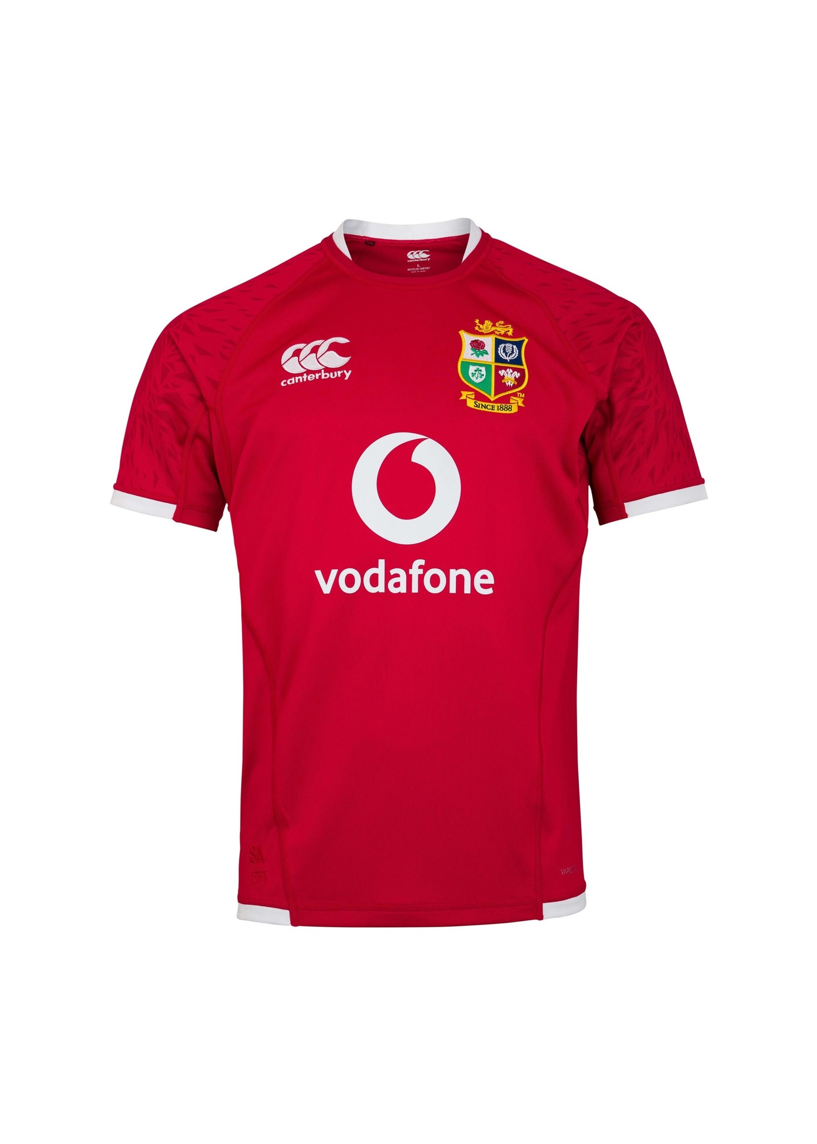 Canterbury British & Irish Lions - Mens Pro Jersey (2021) - Red