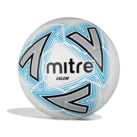 mitre Mitre Calcio Football, White Blue (2021)