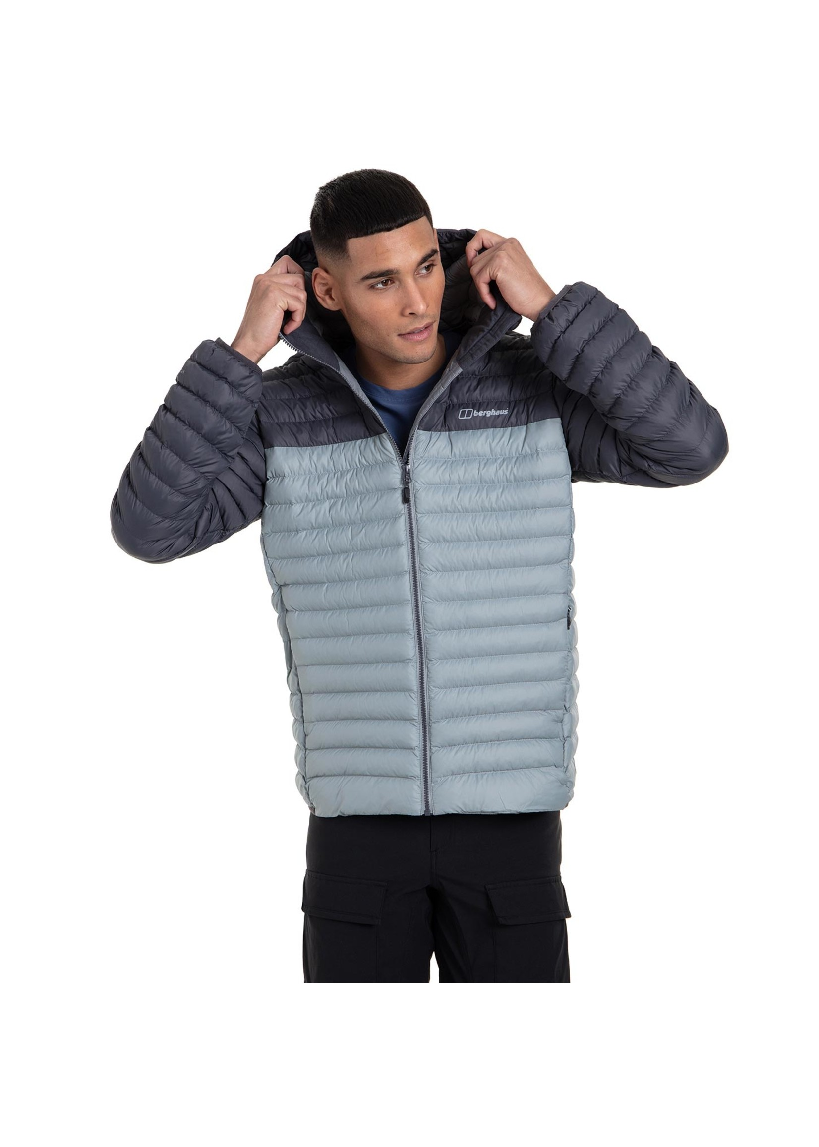 Berghaus Berghaus Vaskye Mens Synthetic Insulated Jacket, Grey/Grey