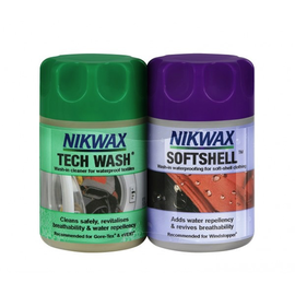 Nikwax Nikwax Tech Wash and Softshell Proof 2in1