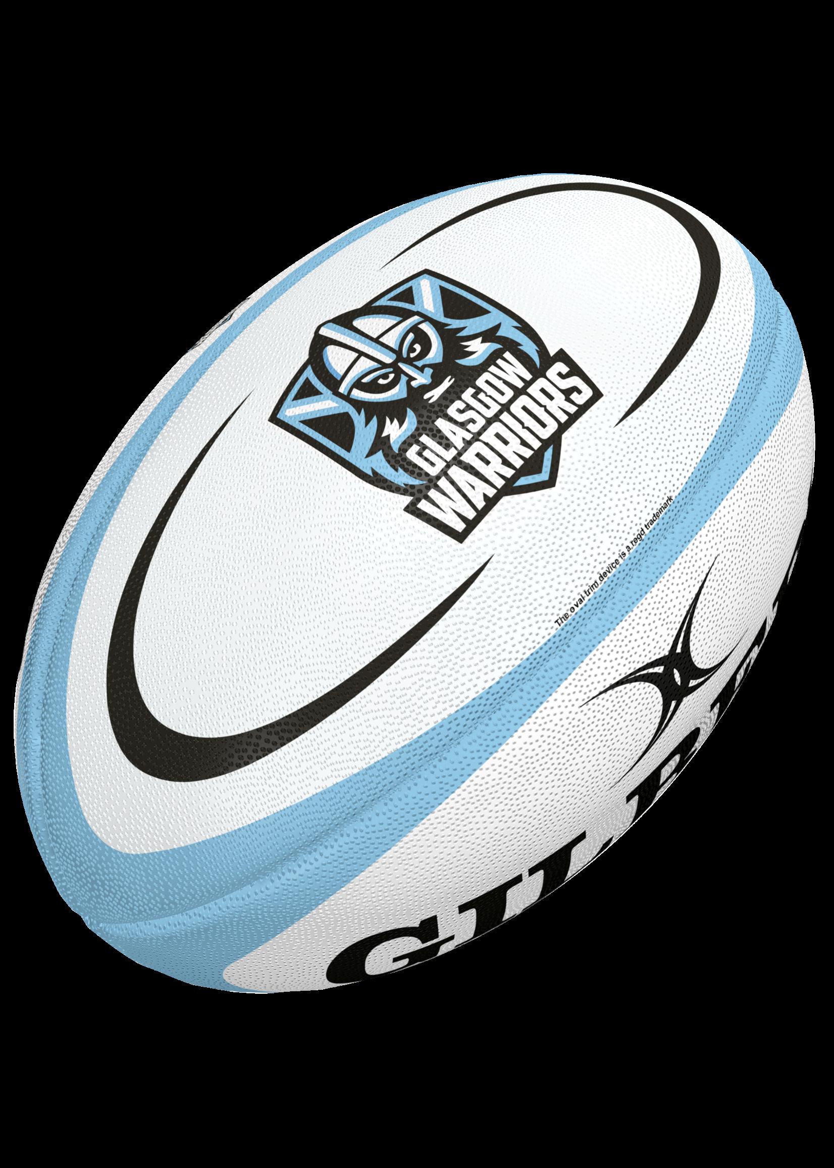 Gilbert Glasgow Mini Replica Rugby Ball (2021)