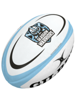 Gilbert Gilbert Glasgow Midi Replica Rugby Ball (2021)