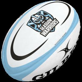 Gilbert Gilbert Glasgow Midi Replica Rugby Ball (2021)