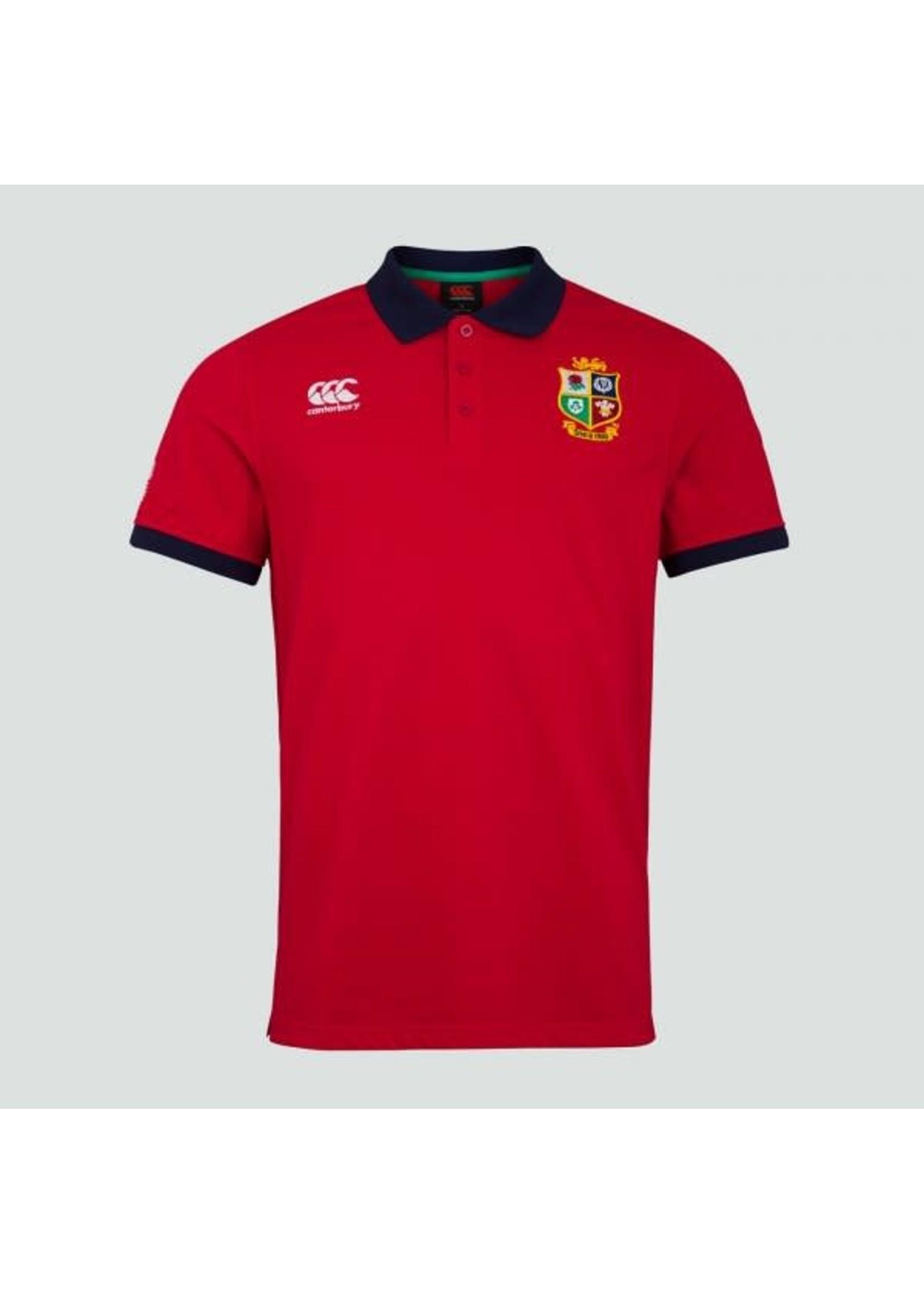 Canterbury British & Irish Lions -  Home Nations Polo Shirt (2021)  Red