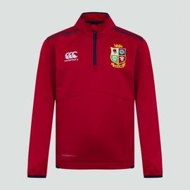 Canterbury British & Irish Lions - Junior Thermoreg Quarter Zip Fleece (2021) - RED
