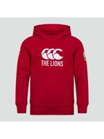 Canterbury British & Irish Lions - Junior Logo Hoody (2021) - Red