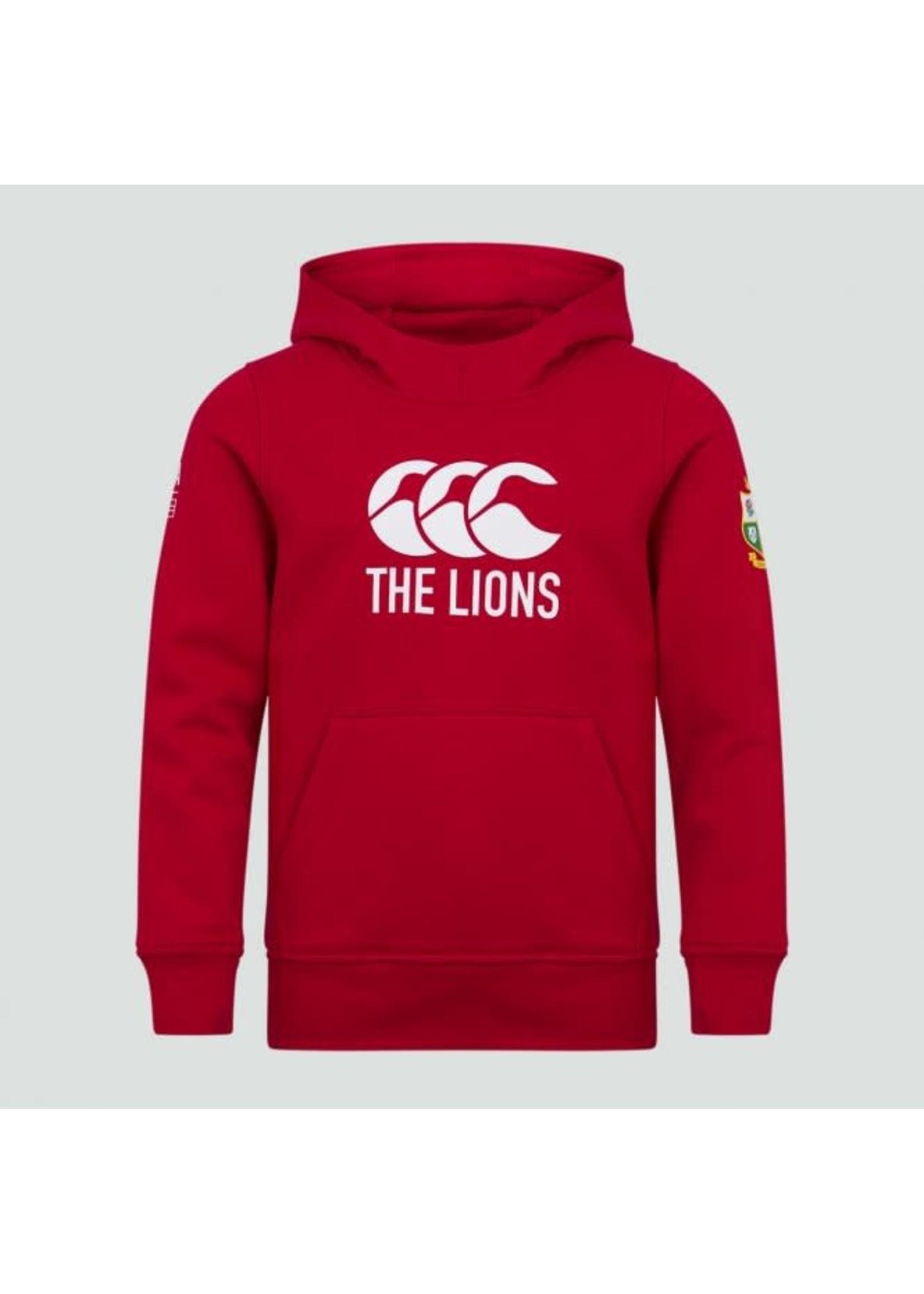 Canterbury British & Irish Lions - Junior Logo Hoody (2021) - Red