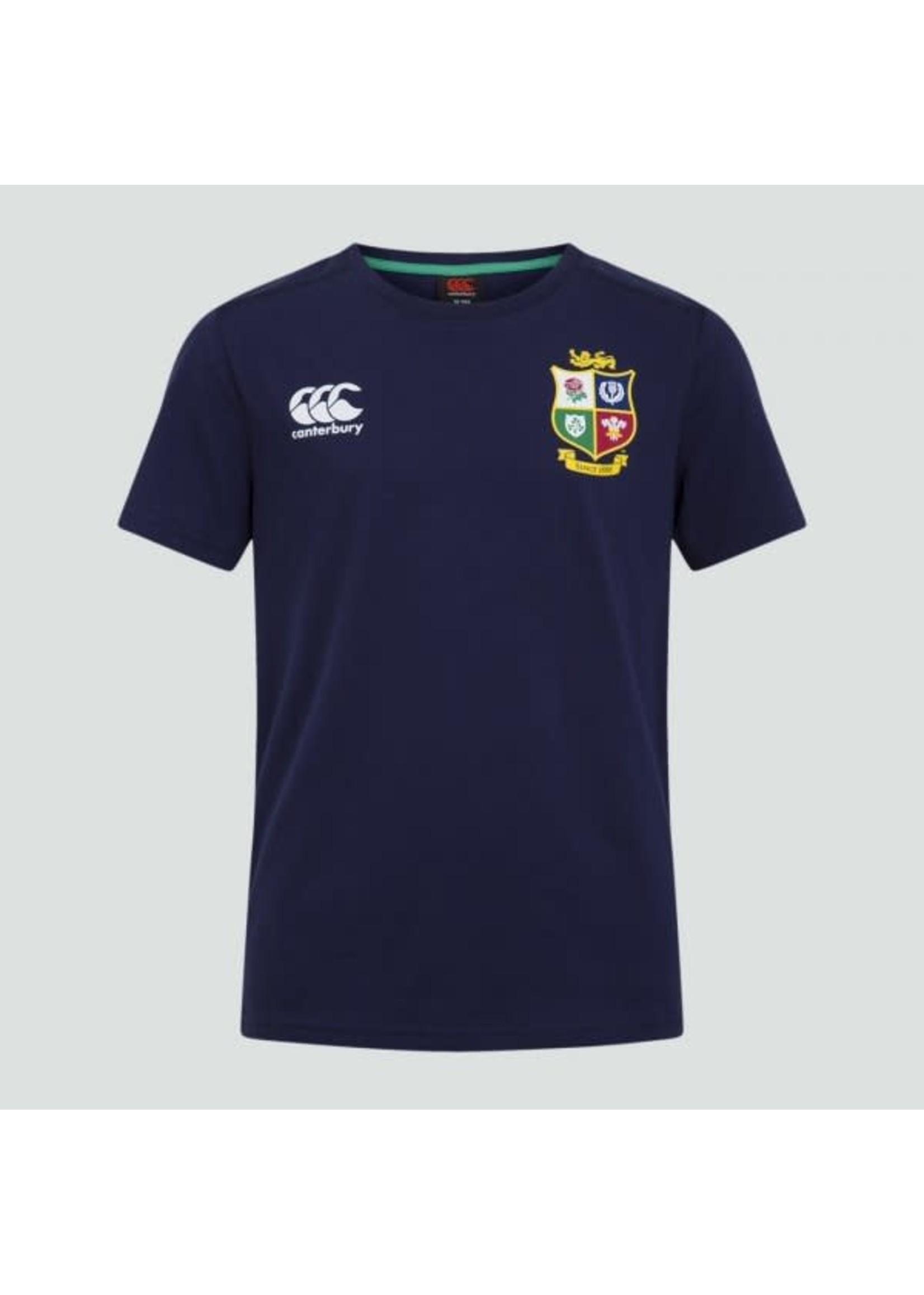 Canterbury British & Irish Lions - Junior Cotton Tee (2021) - Navy