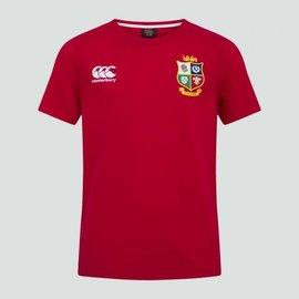 Canterbury British & Irish Lions - Junior Cotton Tee (2021) - Red