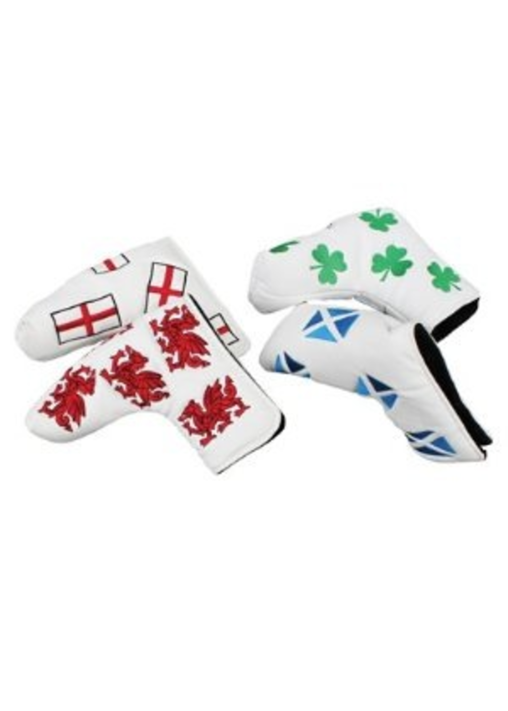 Masters Masters Headkase Flag Putter Cover - Scotland