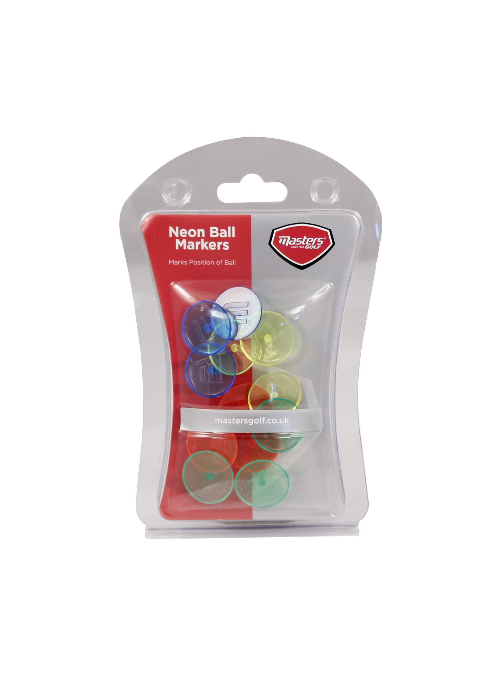Masters Masters Neon Ballmarkers (12 Pack)