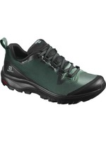 Salomon Salomon VAYA GTX Ladies Walking Shoe, Black/Balsam Green/Black