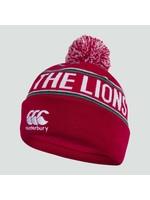 Canterbury British & Irish Lions - Fleece Lined Bobble Hat, Red