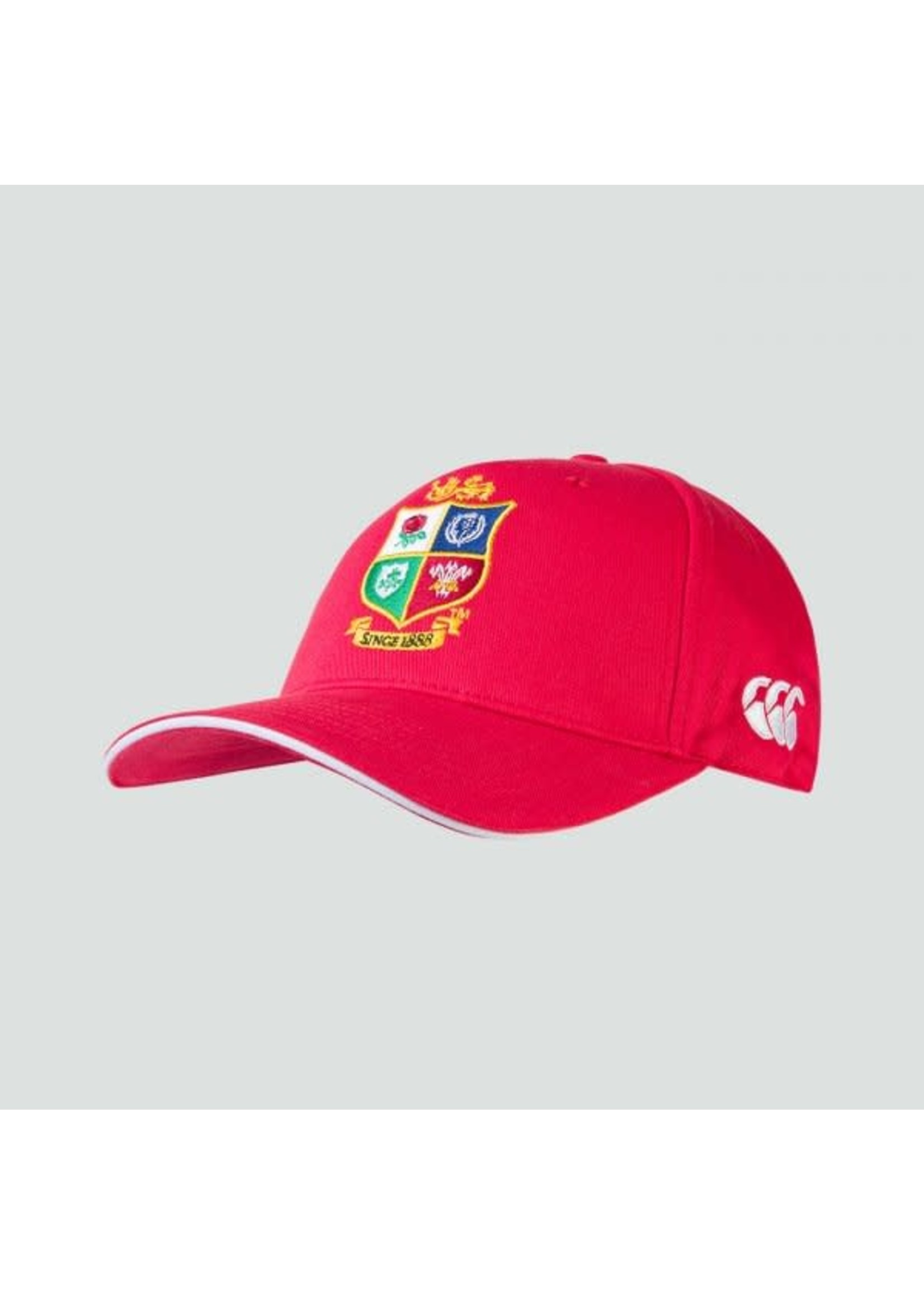 Canterbury British & Irish Lions Cotton Drill Cap, Red