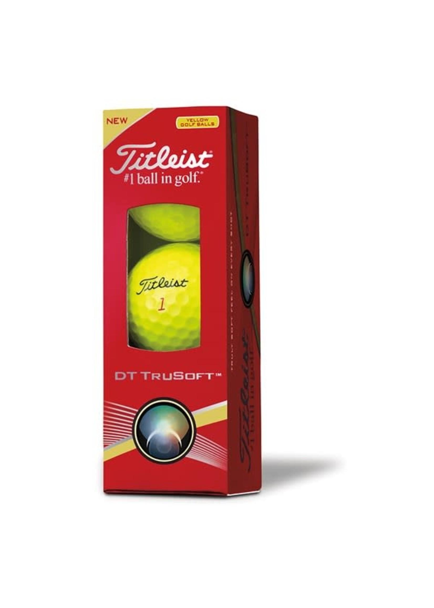 Titleist Titleist TruFeel 3 Pack Golf Balls (2020) - Yellow