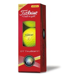 Titleist Titleist TruFeel 3 Pack Golf Balls (2020) - Yellow