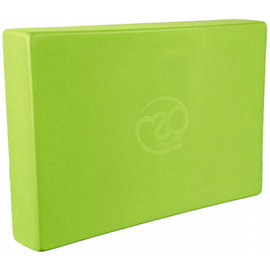 Fitness Mad Fitness Mad Yoga Block , Lime (30x20x5cm)