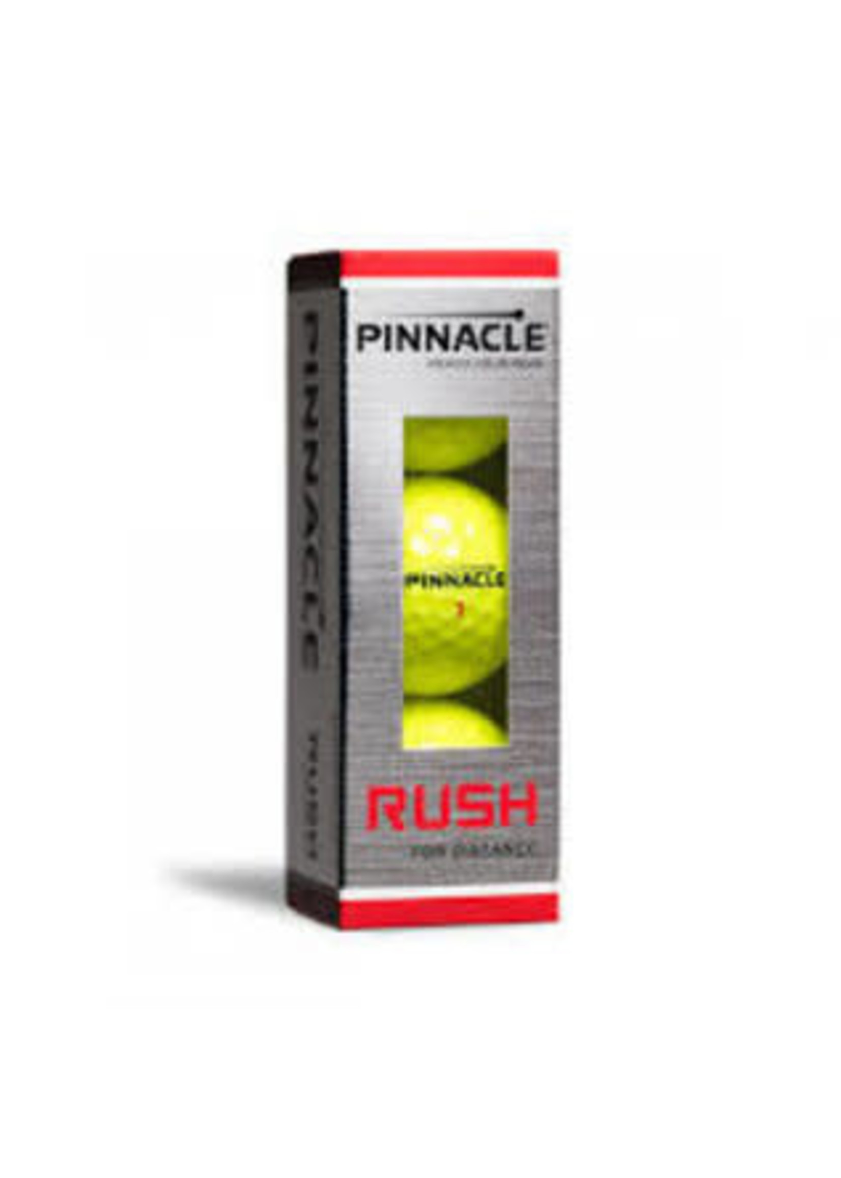 Pinnacle Pinnacle Rush Golf Ball Yellow 3 pack