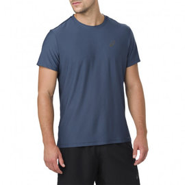 Asics Asics SS Top Running Essentials Mens T-shirt, Blue (2018) XL