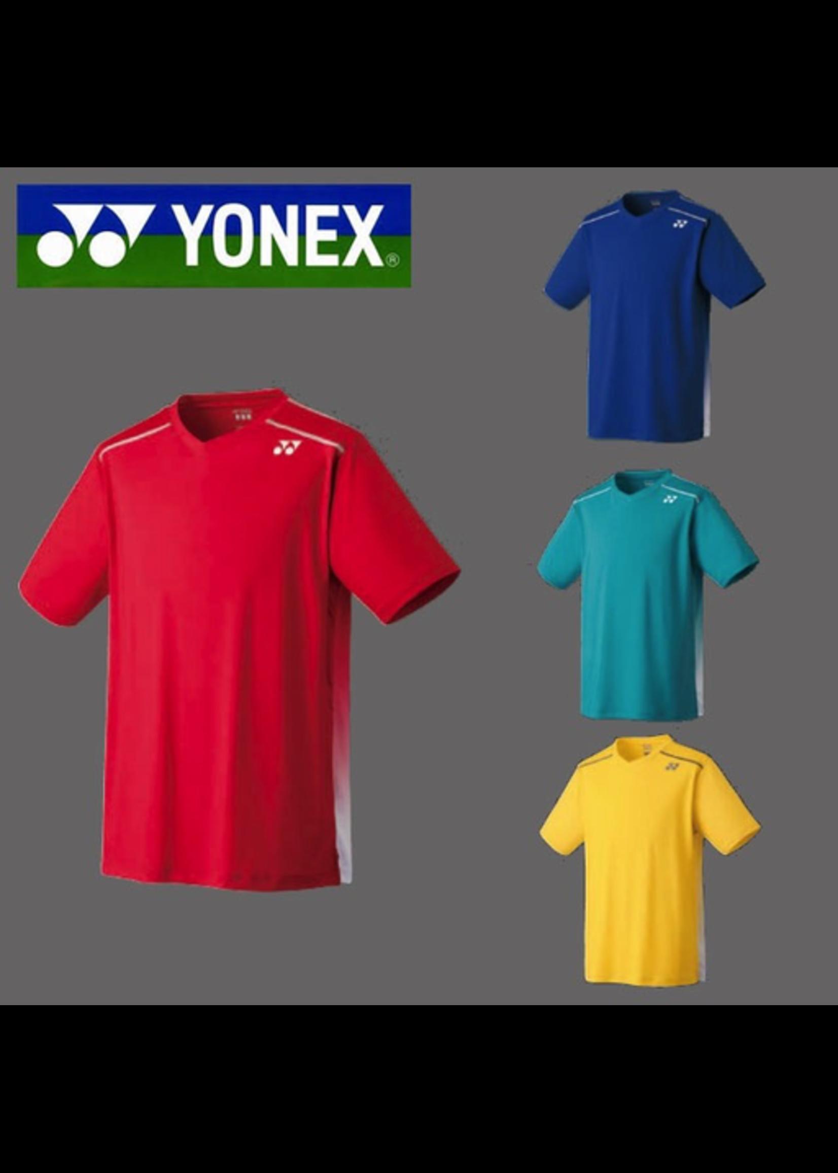 Yonex Yonex 10138ex Mens V-Neck Shirt  Deep Sea XL