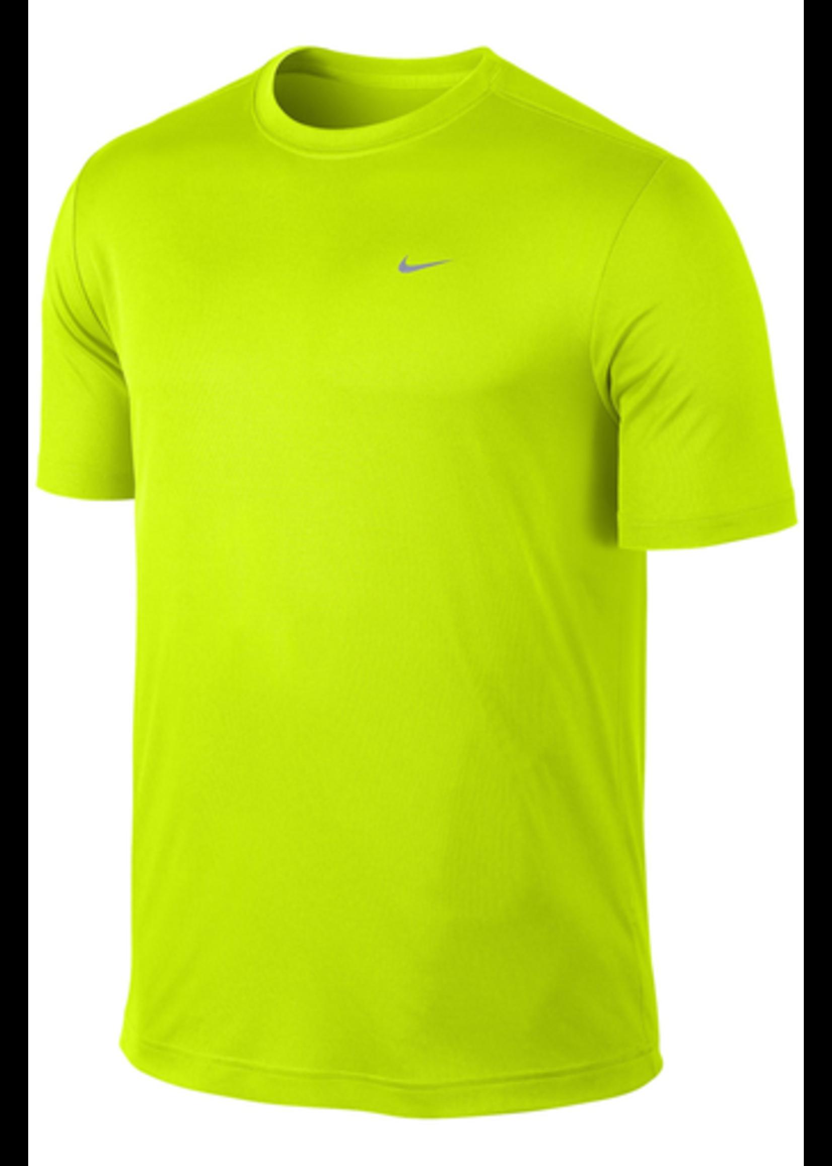 Nike Mens Running T-Shirt 589683 Yellow M