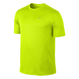 Nike Mens Running T-Shirt 589683 Yellow M