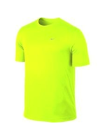 Nike Mens Running T-Shirt 589683 Yellow XXL