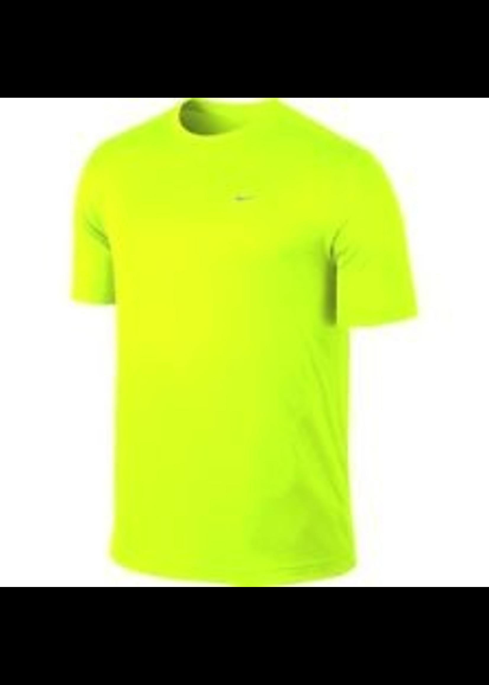 Nike Mens Running T-Shirt 589683 Yellow XXL