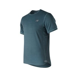 new balance New Balance Mens Seasonless Short Sleeve T-Shirt Blue XL