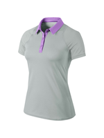 Nike Ladies 599042 Polo Shirt Grey/Lilac S