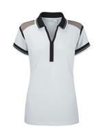 Ping Ping Ladies Jo Jo Polo Shirt White UK 14
