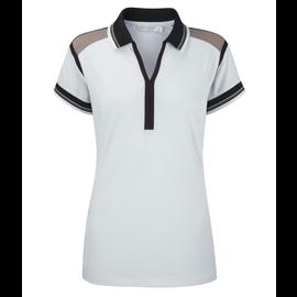 Ping Ping Ladies Jo Jo Polo Shirt White UK 14