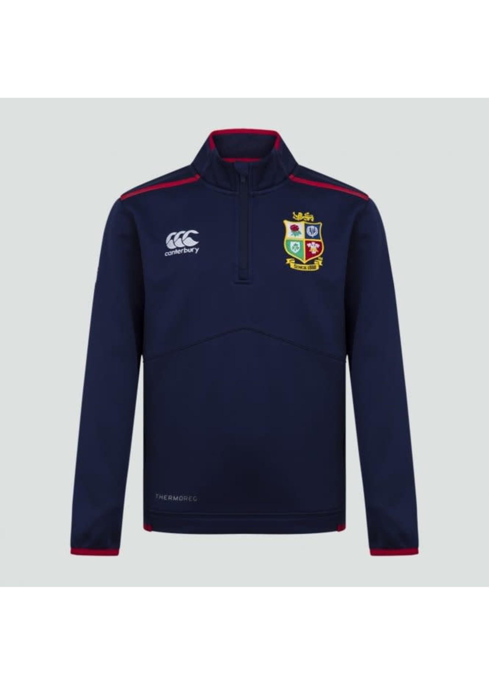 Canterbury British and Irish Lions . 1/4 Zip Thermoreg  Junior Top (2021)