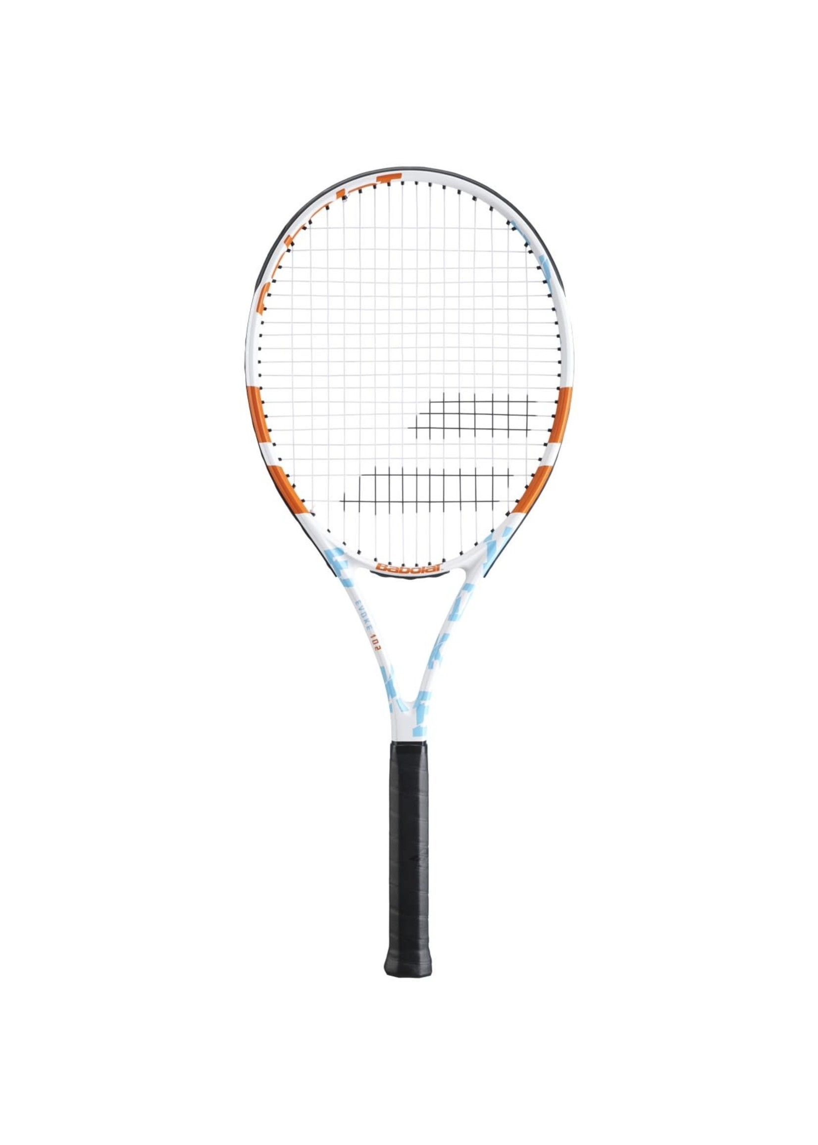 Babolat Babolat Evoke 102 Tennis Racket - White/Blue/Orange (2021)