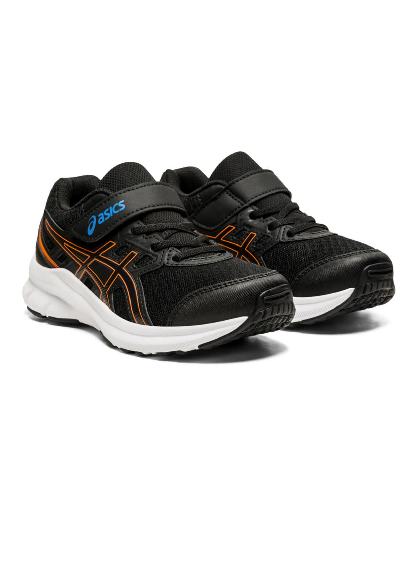 Asics Jolt 3 PS Junior Running Shoe, Black/Reborn Blue, (2021)