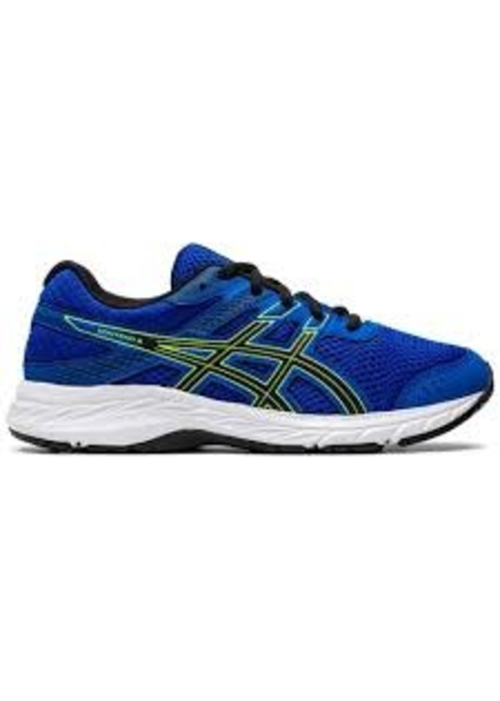 Asics Asics Contend 6 GS Junior Running Shoe, Tuna Blue/Black