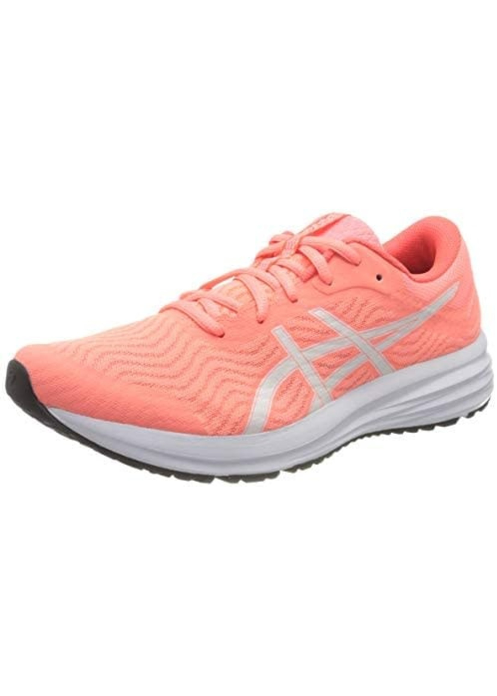 Asics Asics Patriot 12 Womens Running Shoe, Sun Coral/White,(2021)