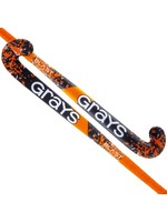Grays Grays Blast Ultrabow Hockey Stick, Black/Orange, (2021)