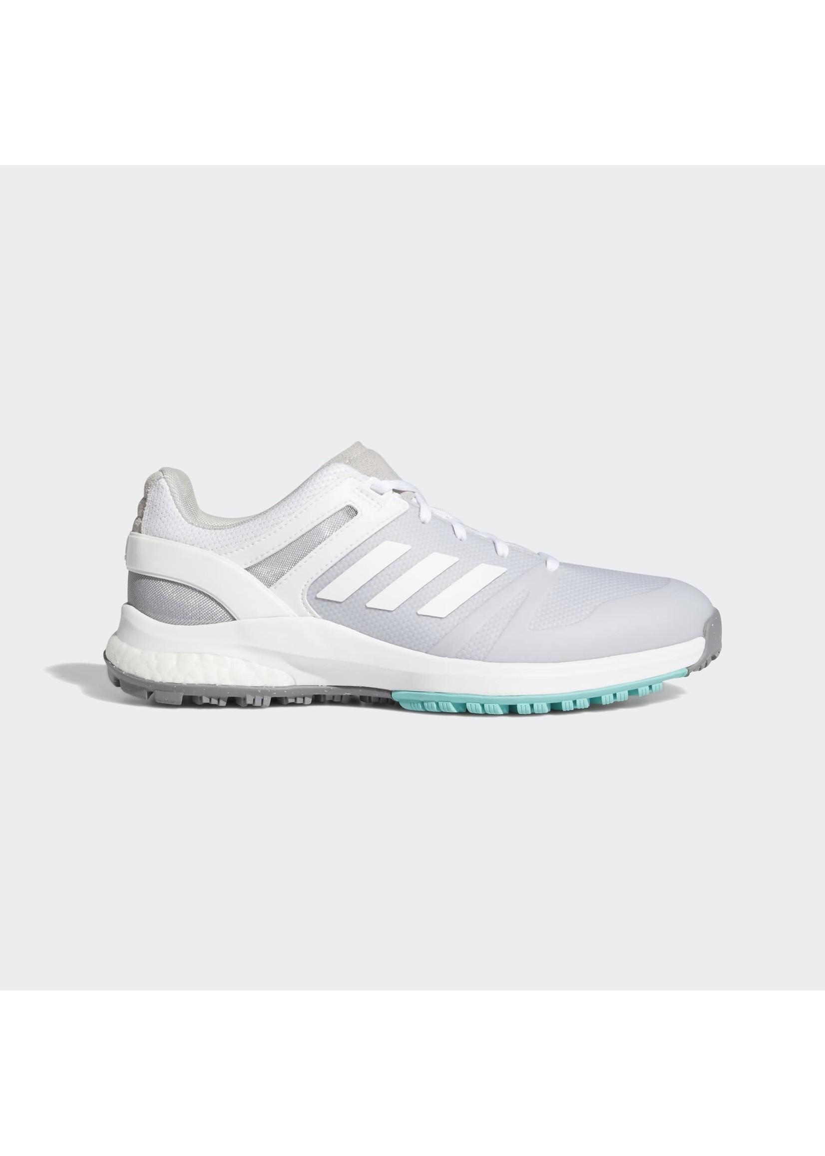 Adidas Adidas EQT Ladies Spikeless Golf Shoe, White/Grey/Green (2021)