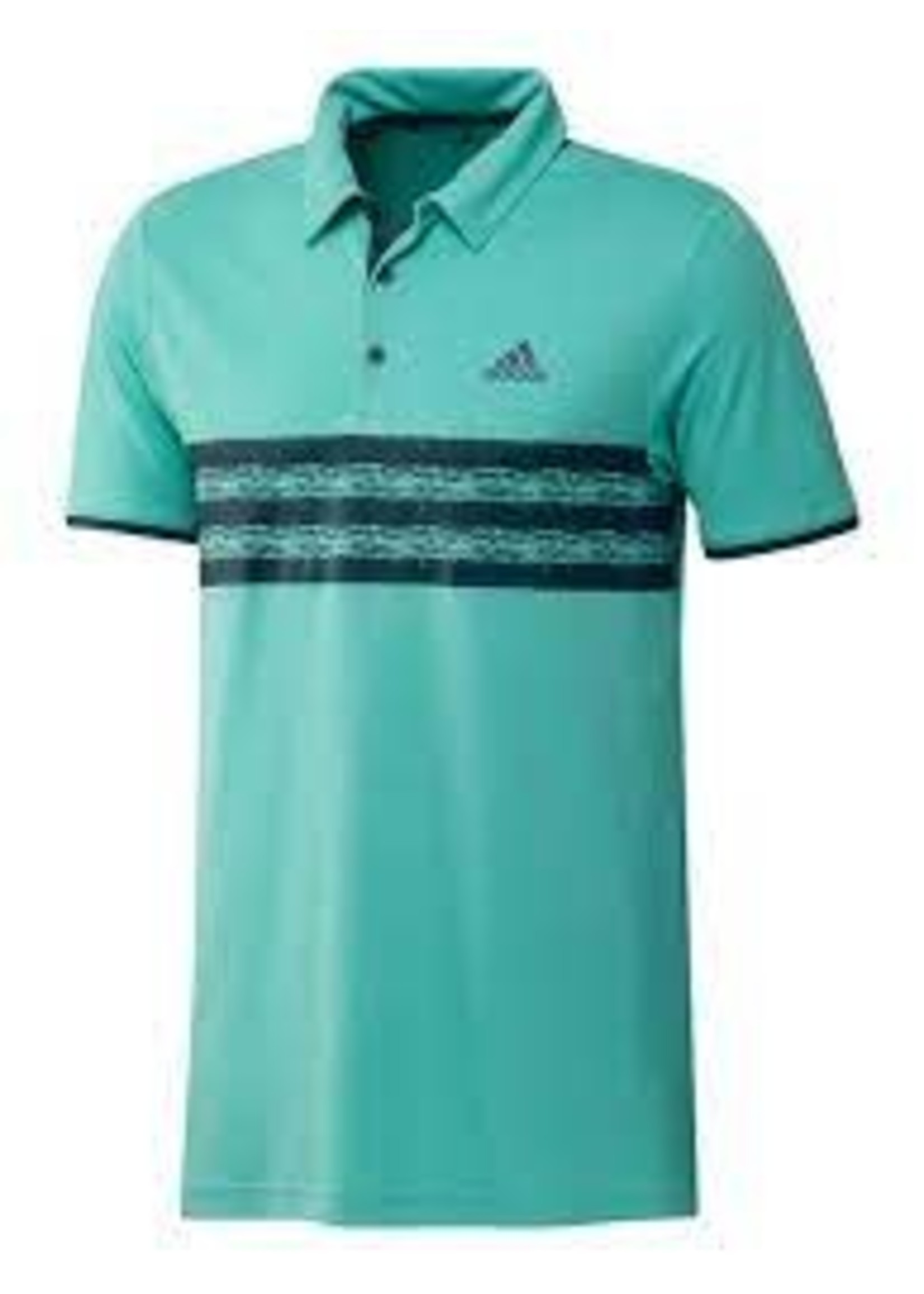 Adidas Adidas Core Golf Mens Polo Shirt,  Acid Mint/Wild Teal, (2021)