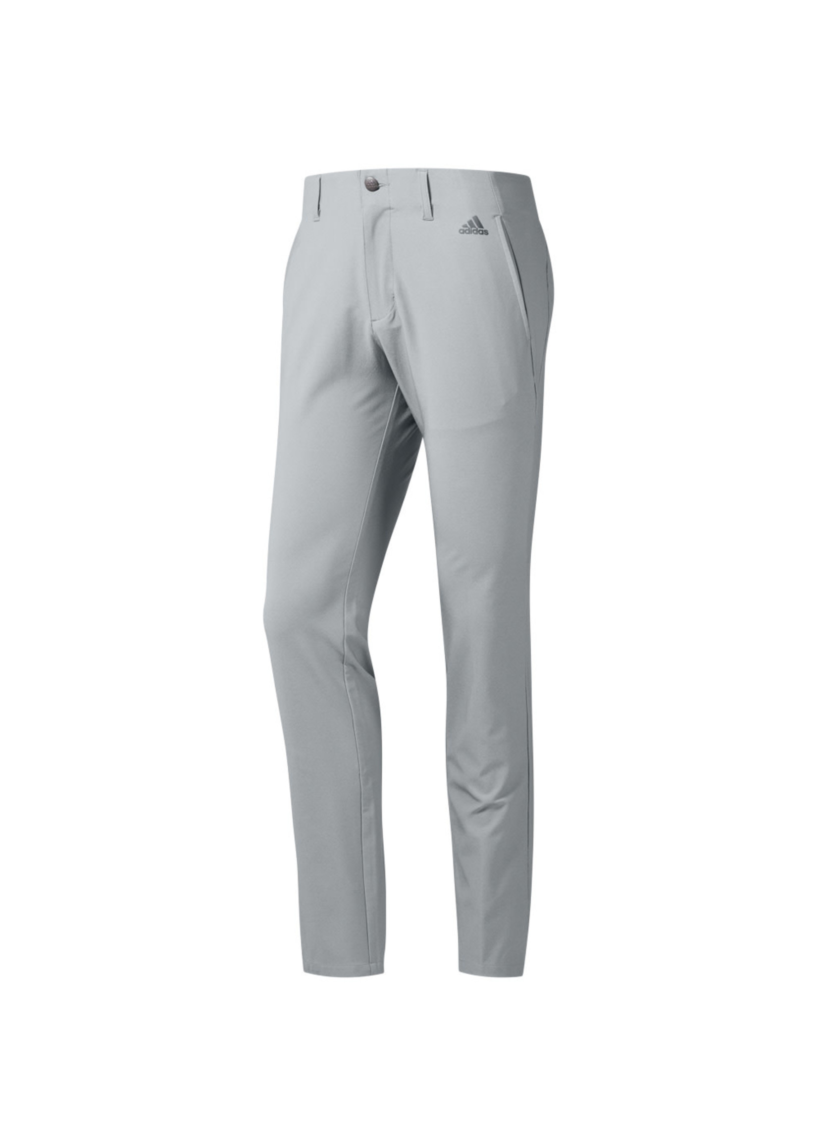 Adidas Adidas Mens Ultimate365 3 Stripe Tapered Golf Trouser, Grey