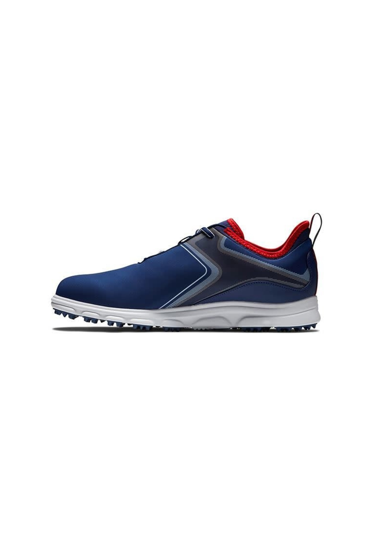 Footjoy FootJoy Men's Superlites XP Golf Shoe, Navy/White/Red, (2021)