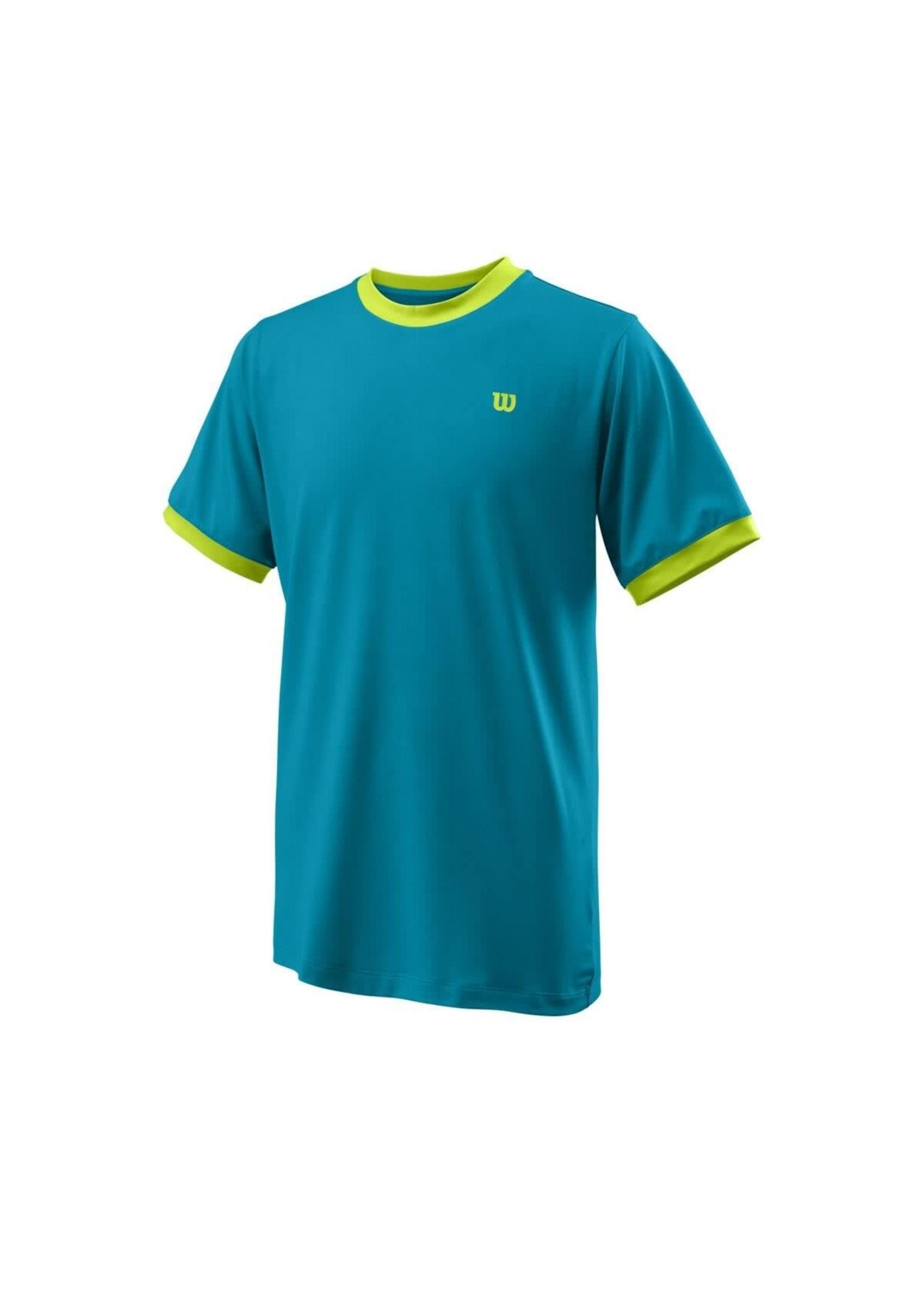 Wilson Wilson Competition Crew Junior T shirt (2021) - Barrier Reef