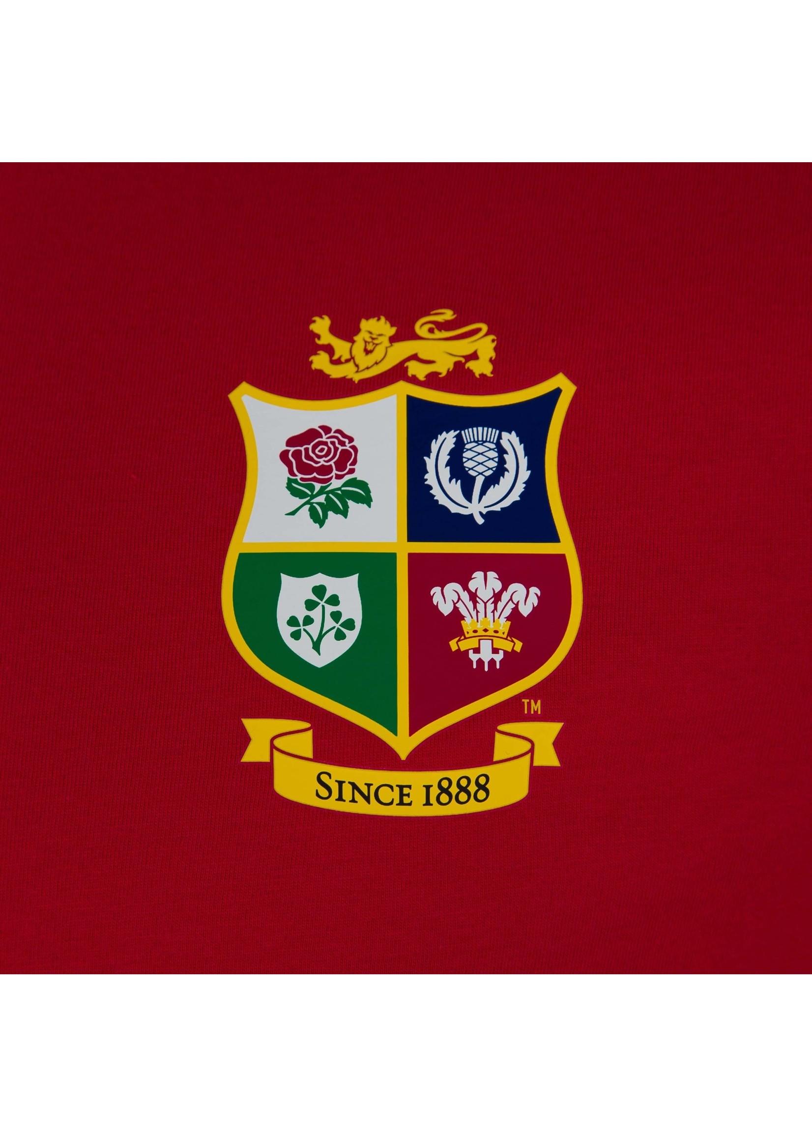 Canterbury British & Irish Lions - Cotton Tee (2021) - Red