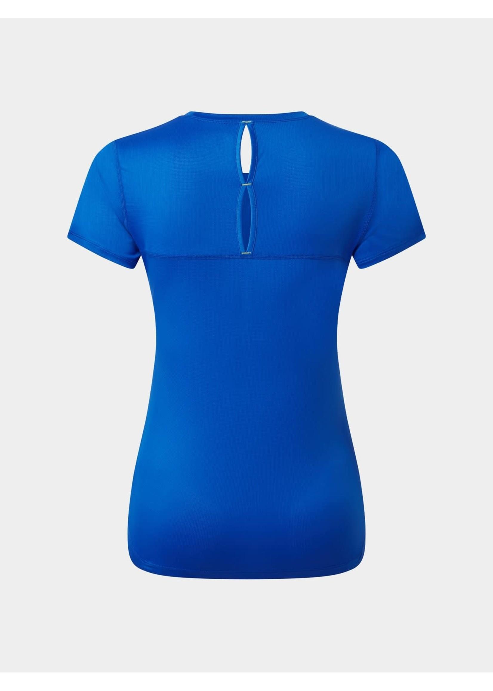 Ronhill Ron Hill Tech Revive Ladies T Shirt (2021) - Azurite/Sun