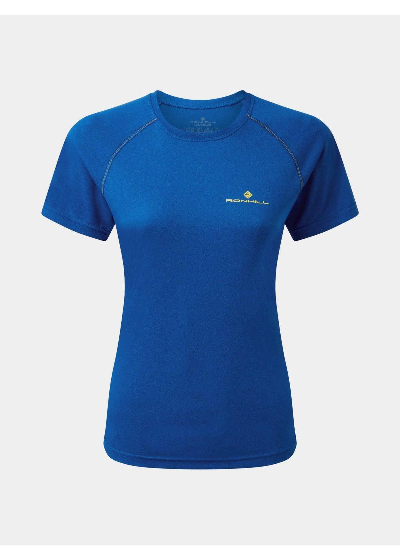 Ronhill Ron Hill Core Ladies T Shirt (2021) - Azurite Marl