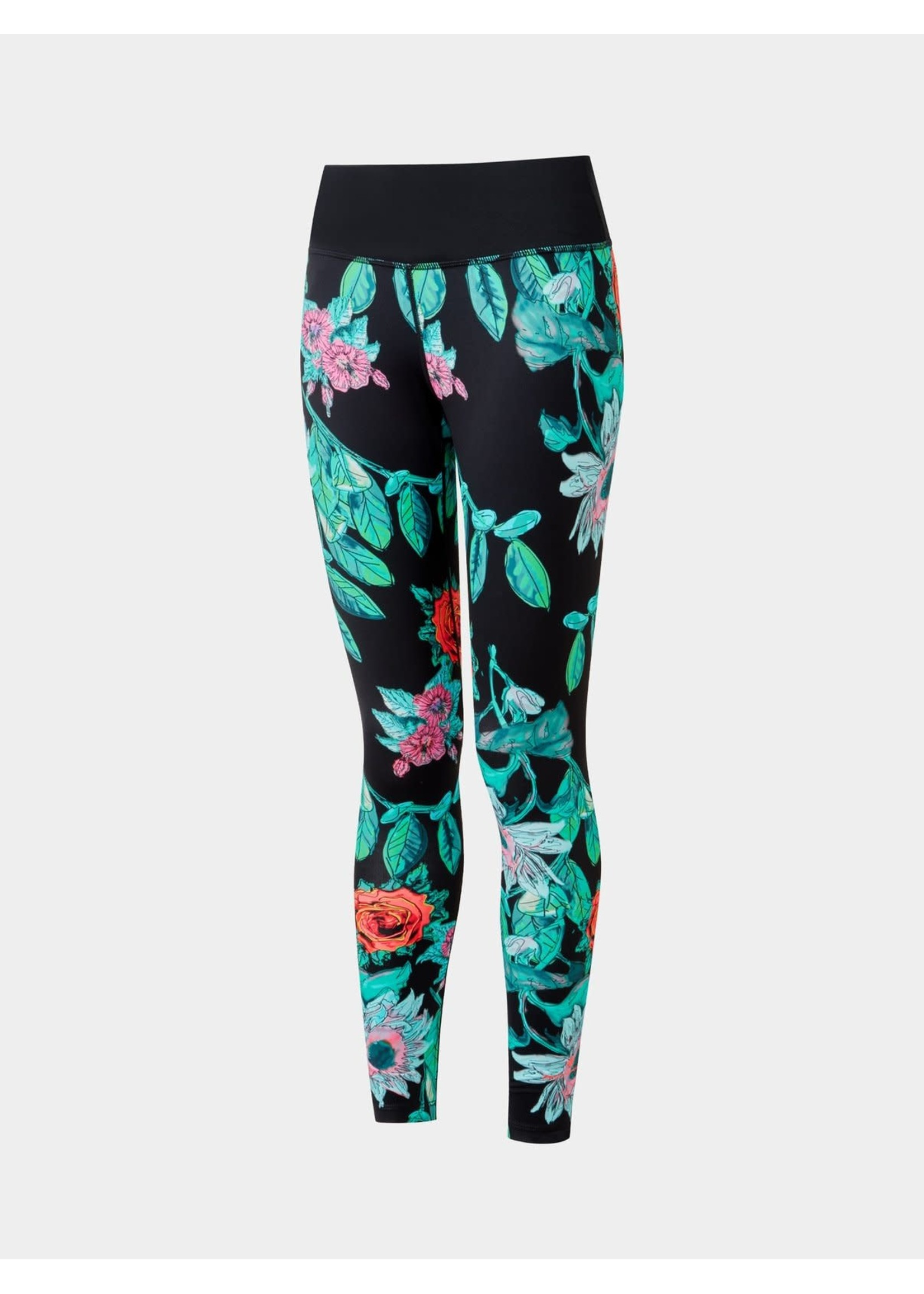 Ronhill Ron Hill Life Tight Ladies Legging (2021) - Gothic Floral