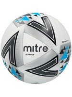 mitre Mitre Ultimatch Size 5 Football, White/Teal/Blue