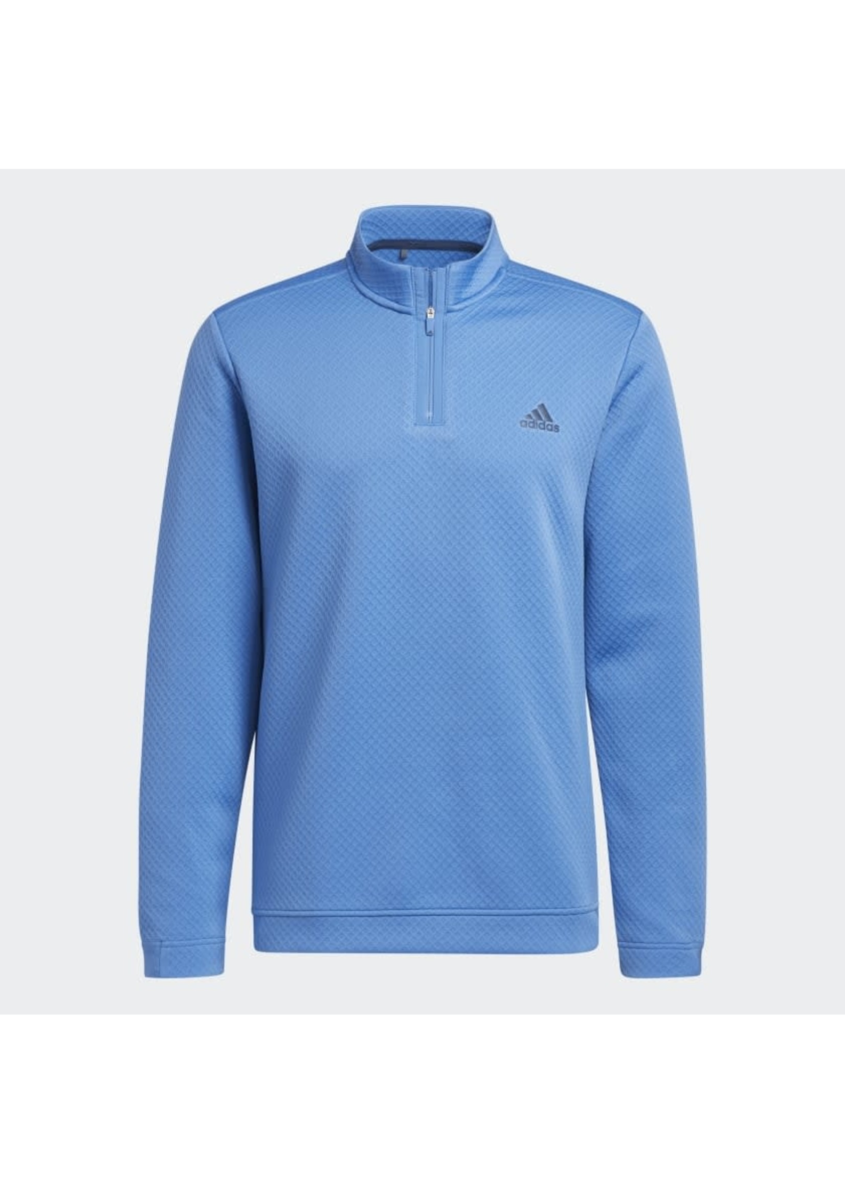 Adidas Adidas Prime Green Water Resistant Mens Golf Top (2021) - Focus Blue