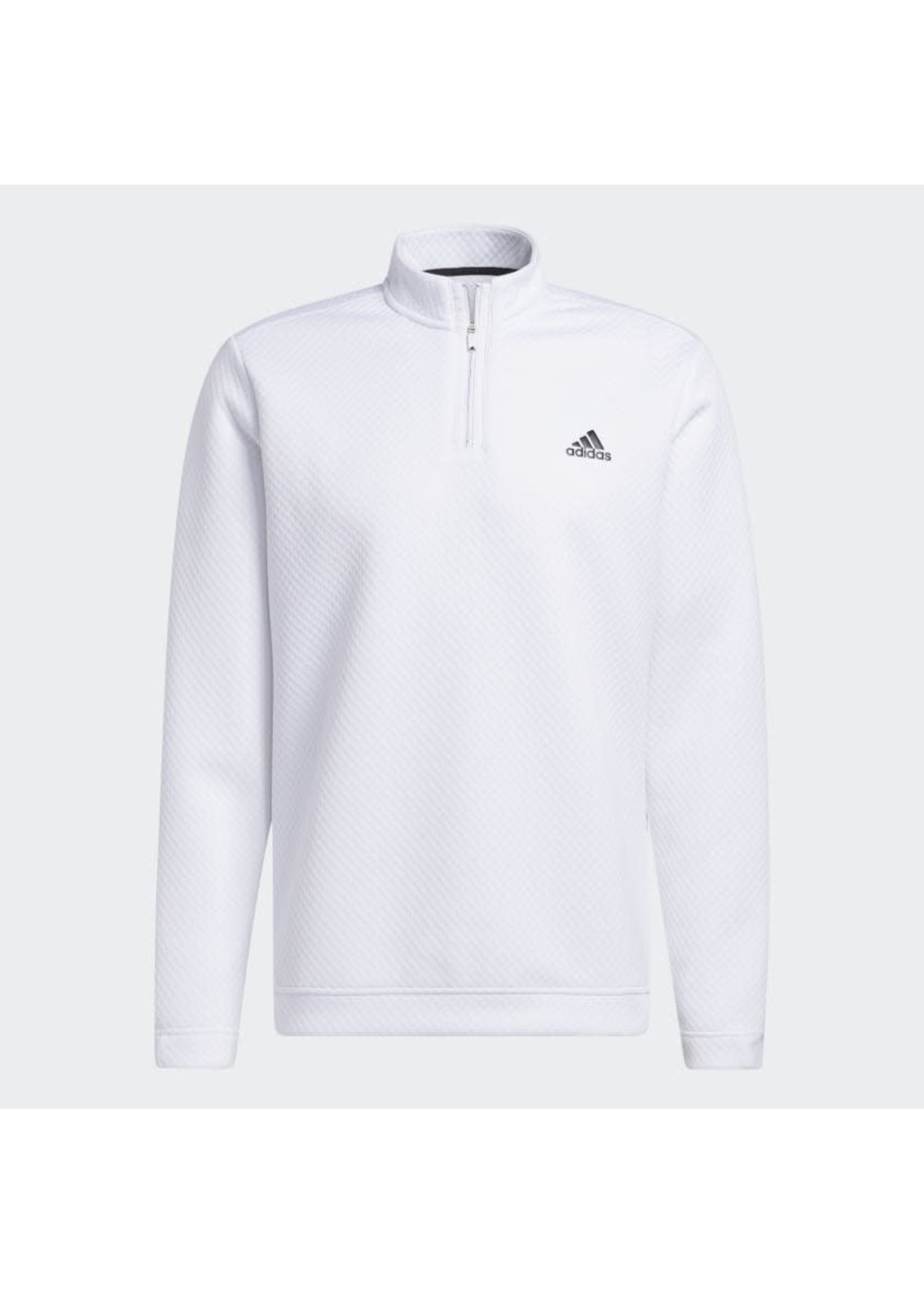 Adidas Adidas Prime Green Water Resistant Mens Golf Top (2021) - White